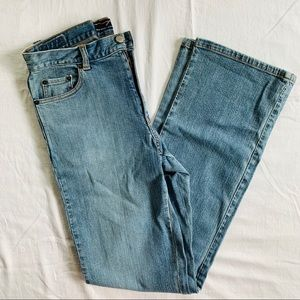 New York & Company Classic Wide Light-wash Jeans